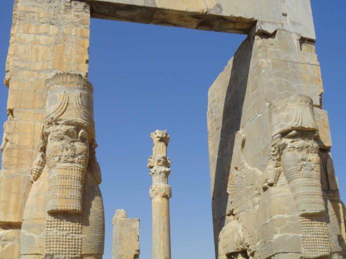 entrance of Persepolis