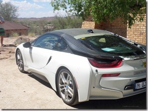 test driving BMW