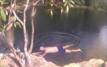 Thomas snorkeling